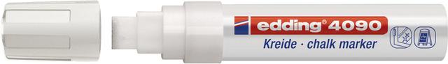 Kreidemarker, 4090, Keilspitze, 4 - 15 mm, Schreibf.: weiß