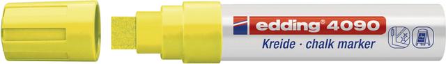 Kreidemarker, 4090, Keilspitze, 4 - 15 mm, Schreibf.: neongelb