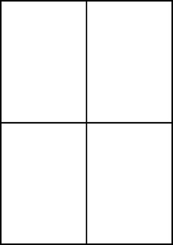 Etikett, I/L/K, A4-Bg., sk, perm., Papier, 105x148mm, weiß
