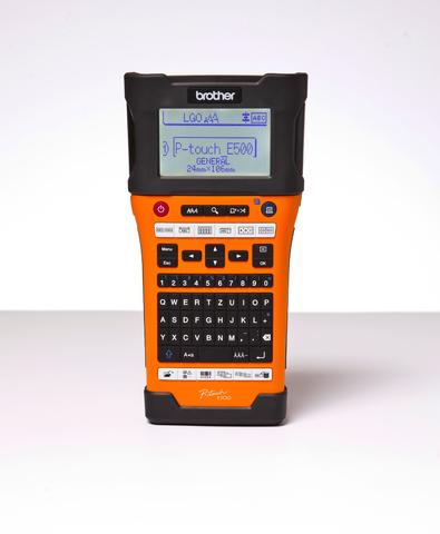 Beschriftungsgerät, P-touch E500VP, Handgerät, für: TZe-/HSe-Bänder