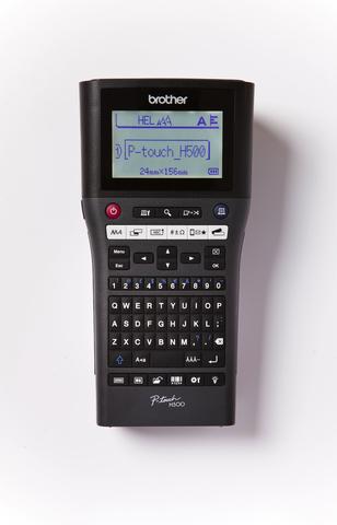Beschriftungsgerät, P-touch H500, Hand-/Tischgerät, für: TZe-Bänder