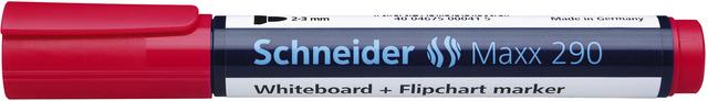 Boardmarker, Maxx 290, nachf., Rsp., 2-3mm, Schreibf.: rot