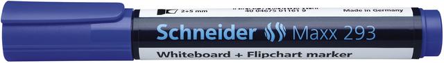 Boardmarker, Maxx 293, nachf., Ksp., 2-5mm, Schreibf.: blau