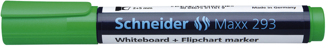 Boardmarker, Maxx 293, nachf., Ksp., 2-5mm, Schreibf.: grün