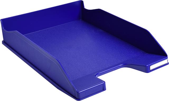 Briefkorb COMBO 2, PS, A4+, 255 x 347 x 65 mm, nachtblau