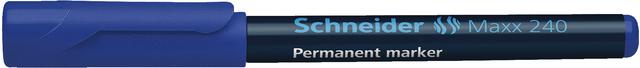 Permanentmarker Maxx 240, Einw., Rsp., 1 - 2 mm, Schreibf.: blau