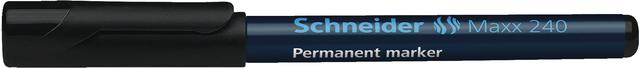 Permanentmarker Maxx 240, Einw., Rsp., 1 - 2 mm, Schreibf.: schwarz