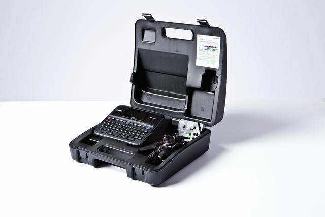 Beschriftungsgerät, P-touch D600VP, Tischgerät, für: TZe-Bänder