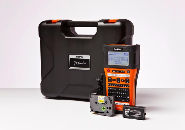 Beschriftungsgerät, P-touch E550WVP, Handgerät, für: TZe-/HSe-Bänder