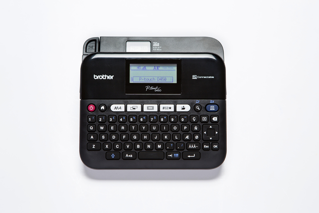 Beschriftungsgerät, P-touch D450VP, Tischgerät, für: TZe-Bänder