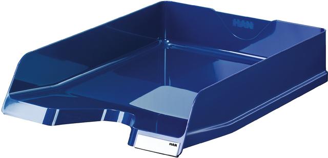 Briefkorb VIVA, PS, C4, 252 x 340 x 65 mm, blau, hochglänzend