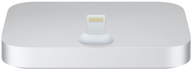Dockingstation iPhone Lightning Dock, silber