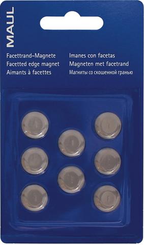 Magnet, rund, Ø: 15 mm, Haftkraft: 170 g, grau
