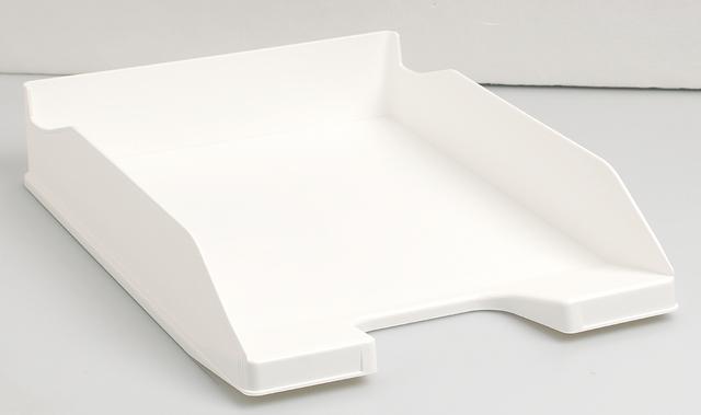 Briefkorb Combo2, A4+, 346 x 255 x 65 mm, weiß