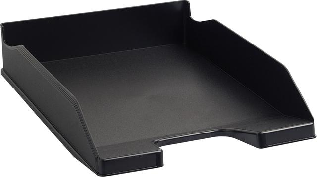 Briefkorb Combo2, A4+, 346 x 255 x 65 mm, schwarz