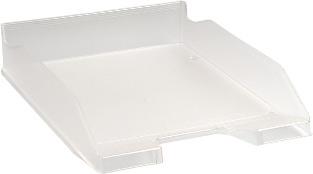 Briefkorb Combo2, A4+, 346 x 255 x 65 mm, glasklar