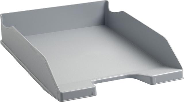 Briefkorb Combo2, A4+, 346 x 255 x 65 mm, grau