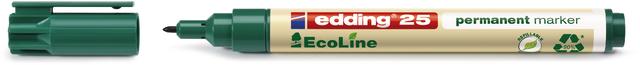 Permanentmarker, EcoLine 25, Rundspitze, 1 mm, Schreibf.: grün