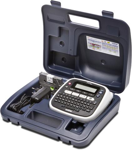 Beschriftungsgerät, mit Koffer, P-touch D200BW, Tischgerät