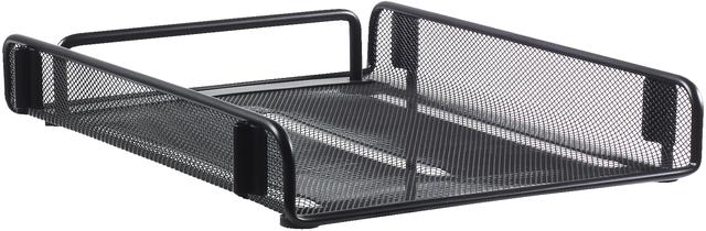 Briefkorb, Draht, A4, 265 x 350 x 70 mm, schwarz