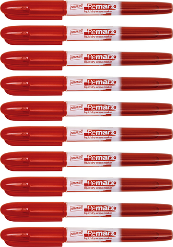 Boardmarker, Remarx™, 1 - 3 mm, Schreibf.: rot