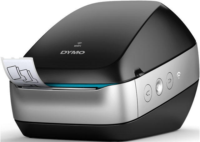 Etikettendrucker, LabelWriter™ Wireless, PC/MAC, 633 g, schwarz