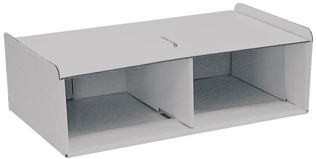 Korpus, zum Aufstellen, ohne Schublade, 262x446x145mm, grau