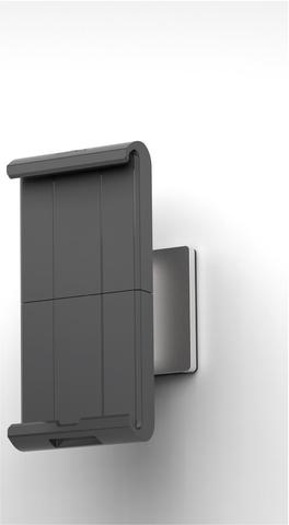 Tablet-Halter, Wand, für Geräte bis: 17,78 - 33,02 cm, silber