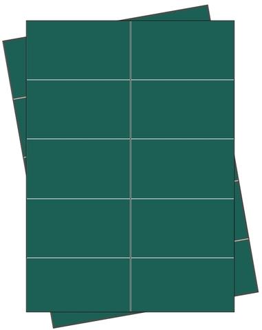 Etikett, Handbeschriftung, selbstklebend, permanent, 68 x 35 mm, grün