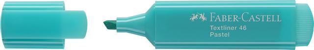 Textmarker Textliner 46, Pastel, Ksp., 1 / 2 / 5 mm, Schreibf.: türkis