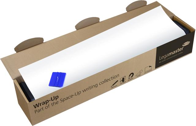 Schreibfolie WRAP-UP, selbstklebend, PP, 1.200 x 101 cm, weiß