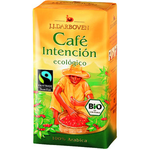 Cafe Intencion ecologico BIO gemahlen FAIR TRADE 500g