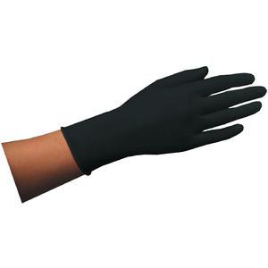 Einmalhandschuh aus Naturlatex schwarz Größe M 100 St